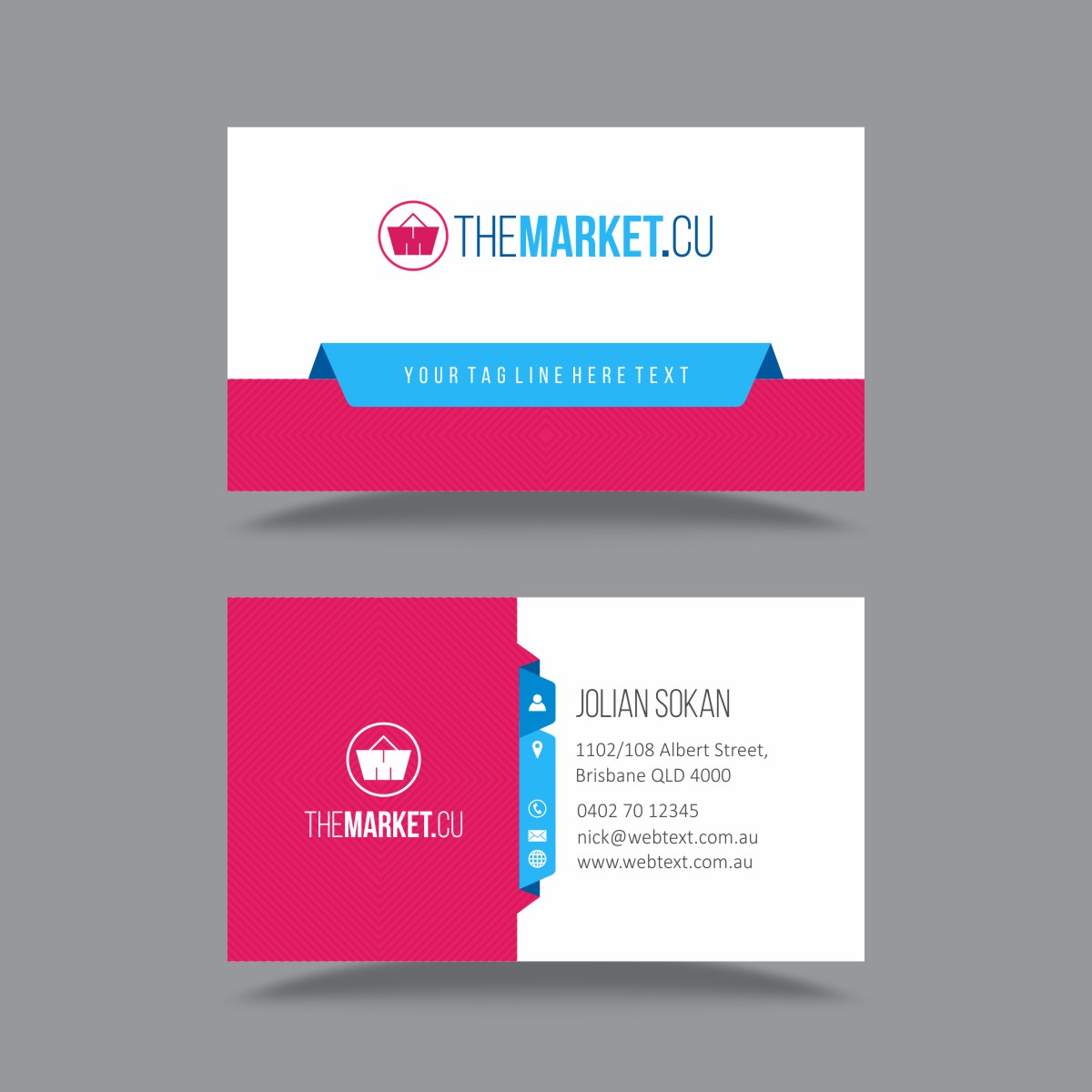 Ecommerce business card template online logo makers blog ecommerce business card template reheart Image collections