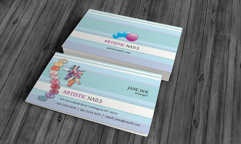 Manicure pedicure business card templates online logo makers blog manicure pedicure business card templates fbccfo Images