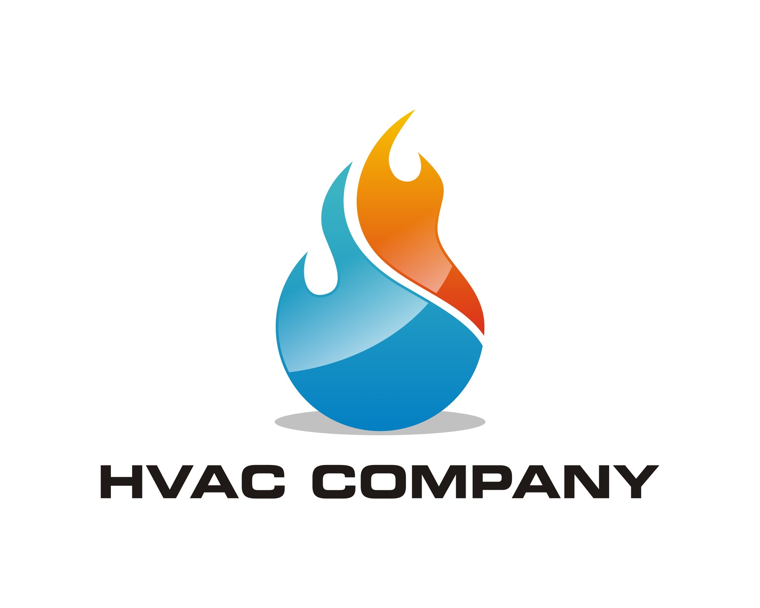 developing a brand in a crowded market with a great hvac logo
