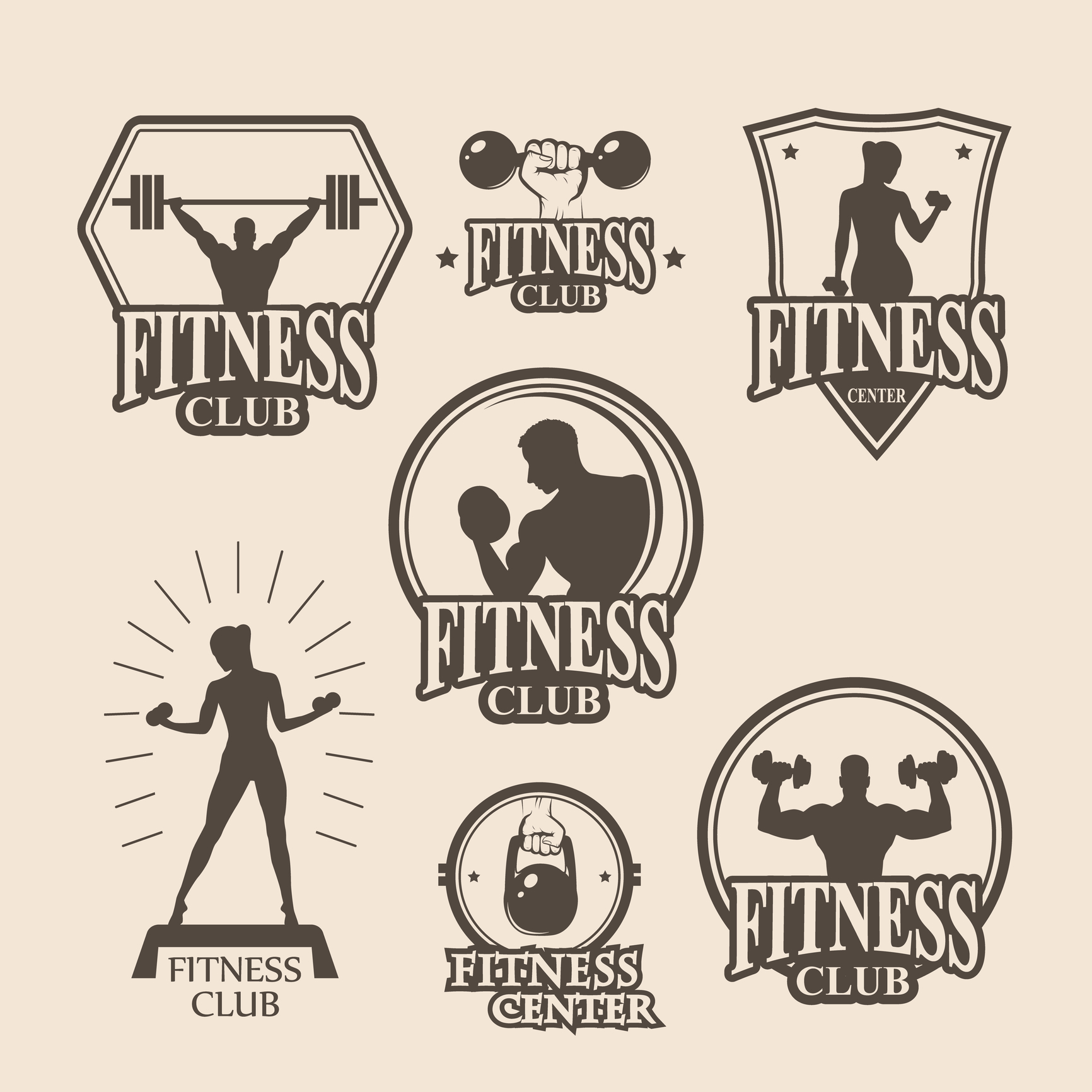 Design Elements Of A Fitness Logo That Motivates O Online