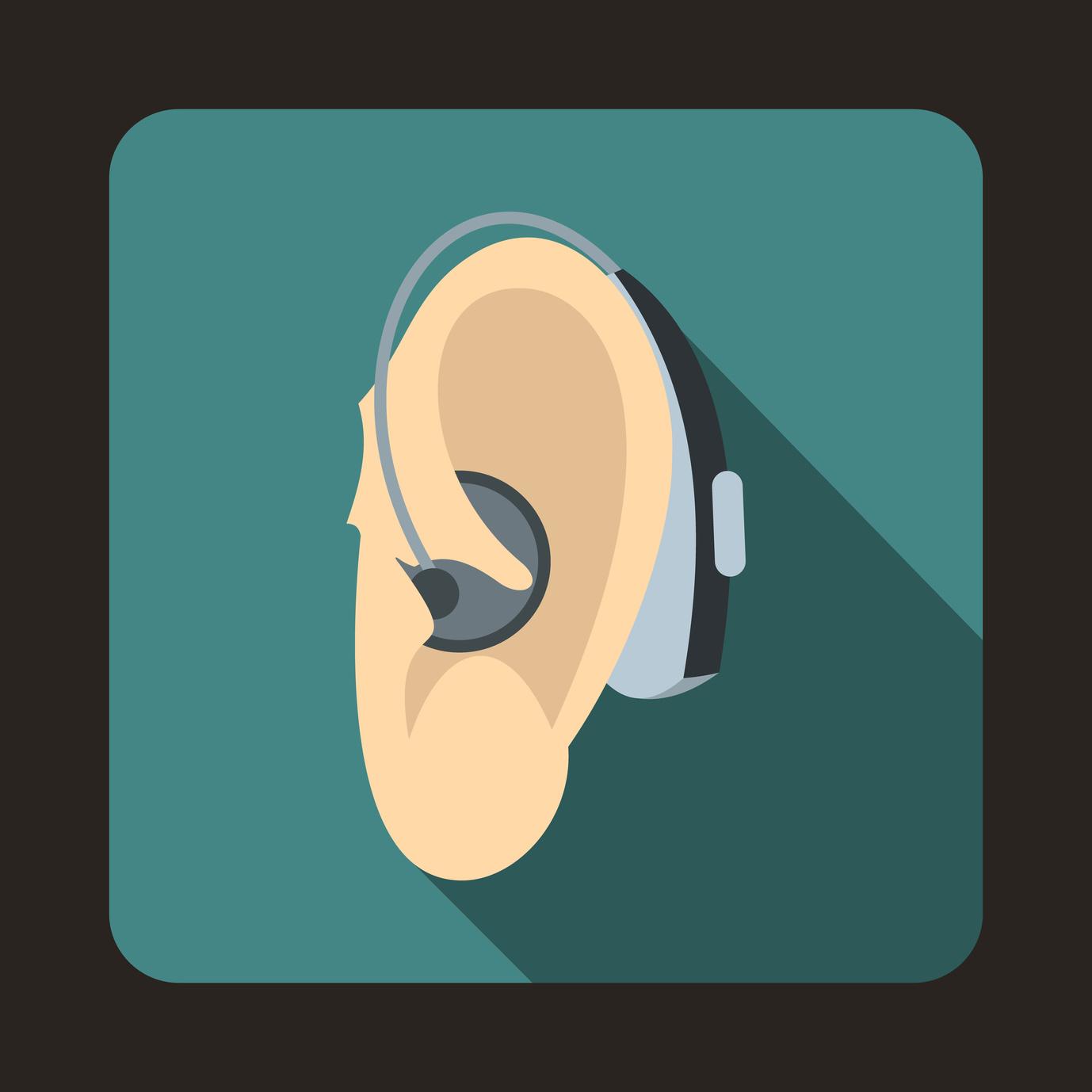 hearing aid logo