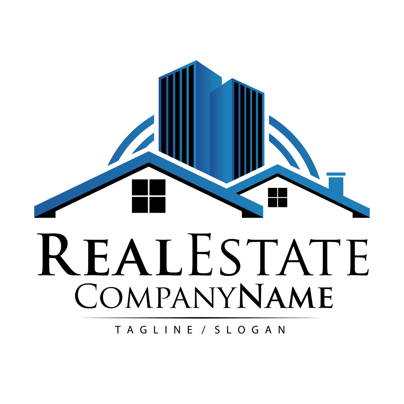 5 professional fonts for real estate logo design online logo