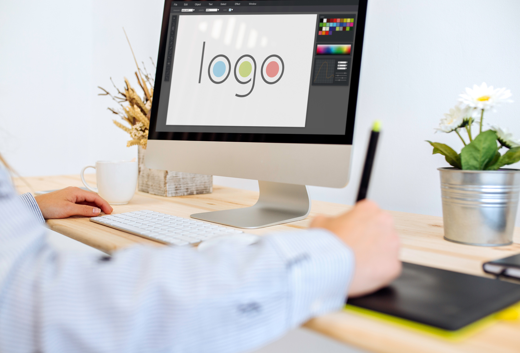 How to create a high quality tech logo online logo maker for Create blog logo
