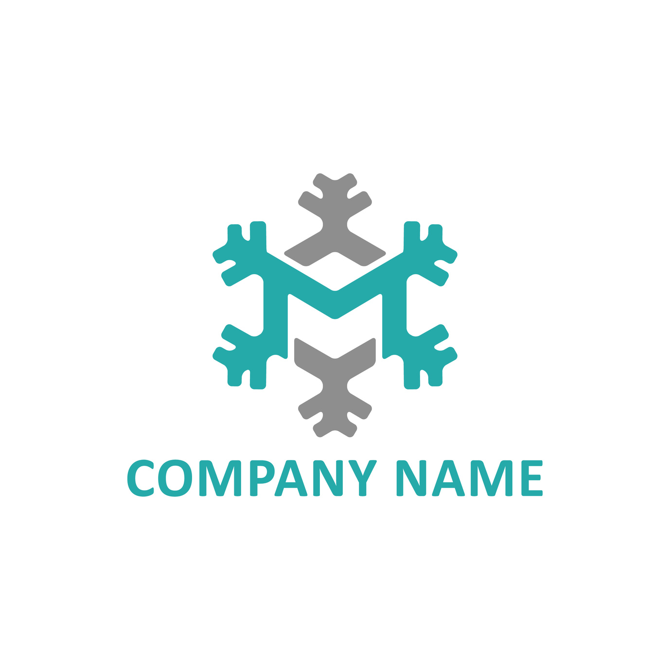 christmas logo design