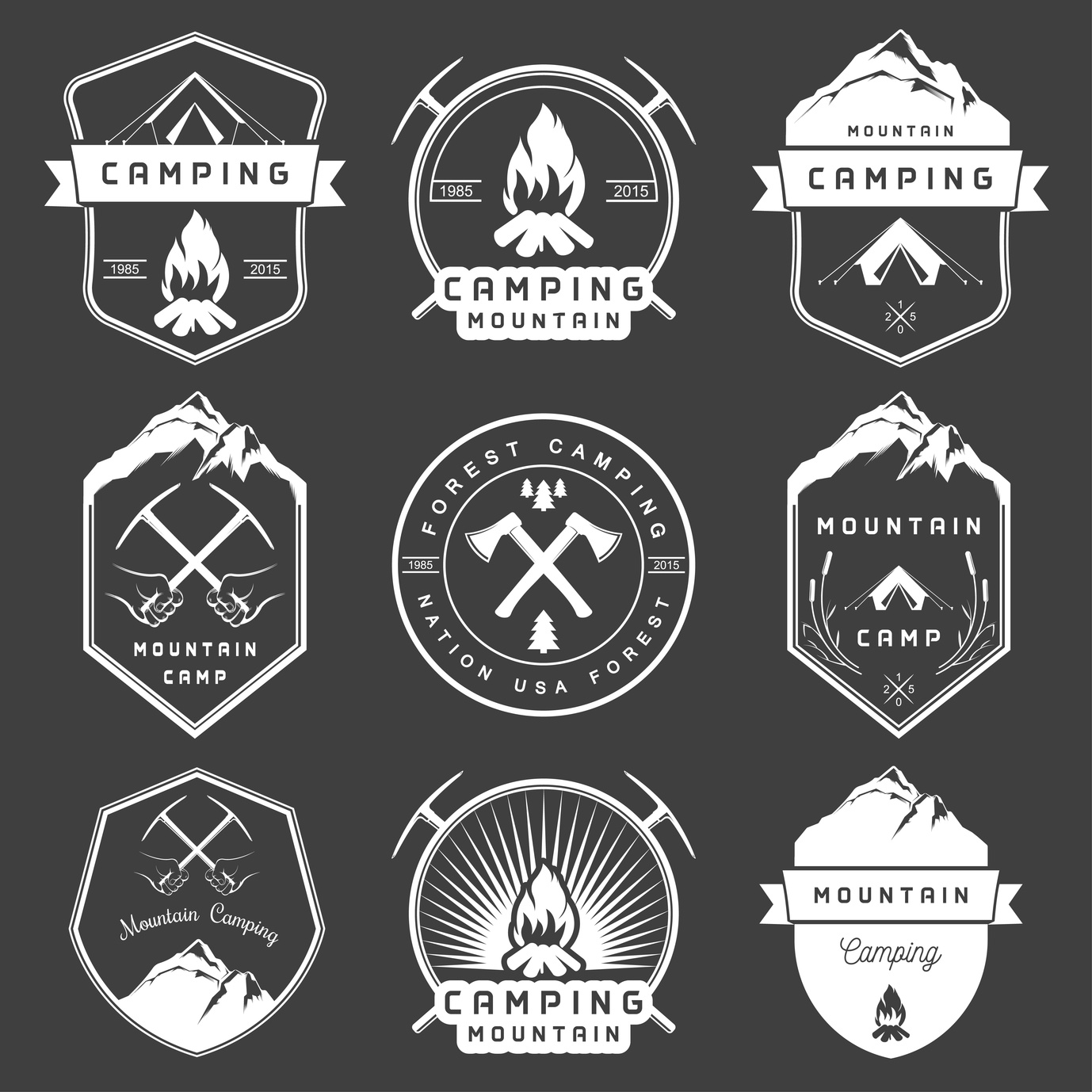 5 Smart Logo Design Tips for Camping Supplies Companies ...