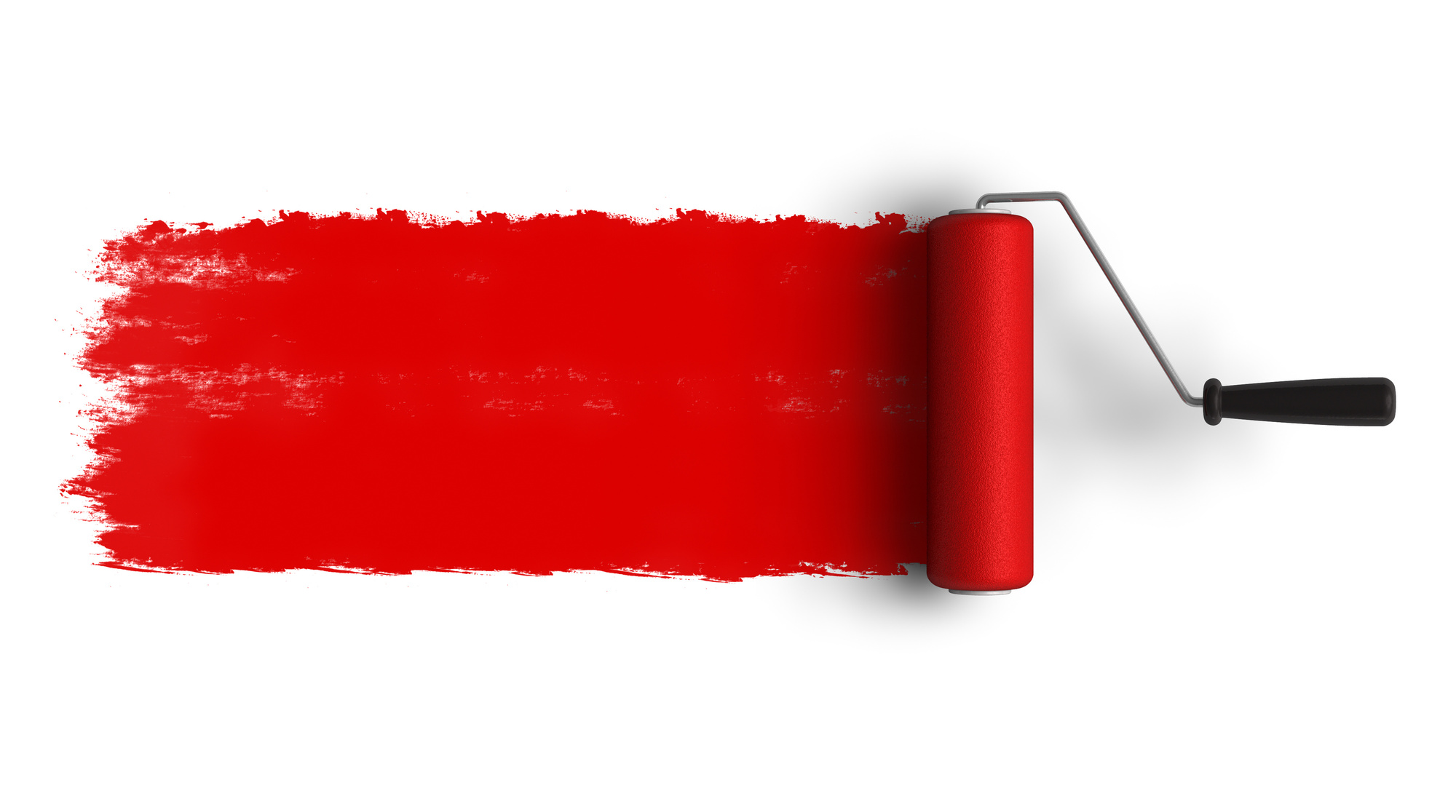 red means go add the perfect accent to your painting services logo