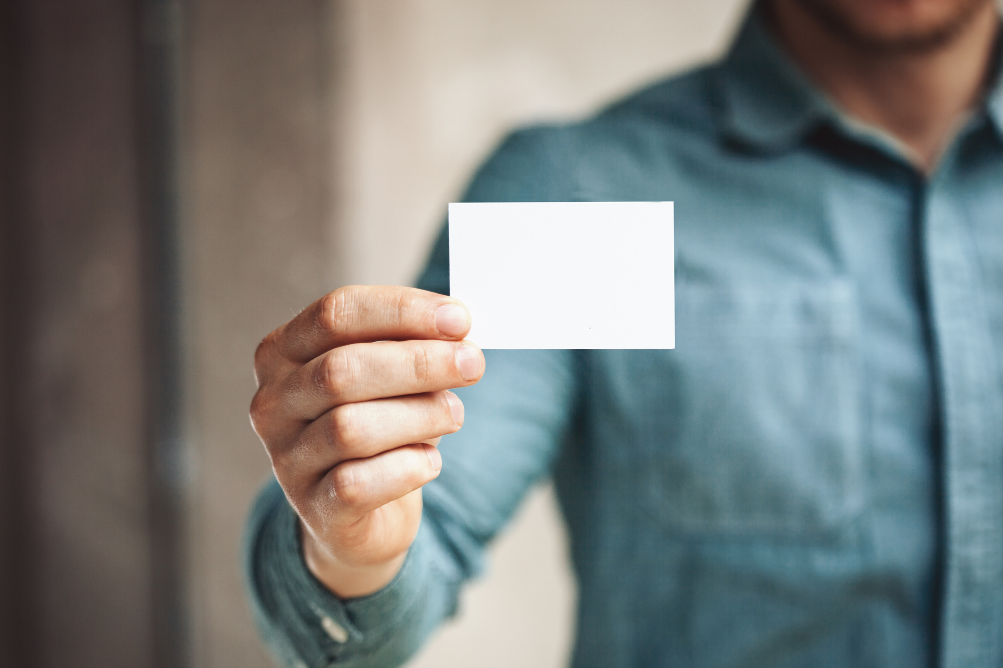 elegant business card design tips
