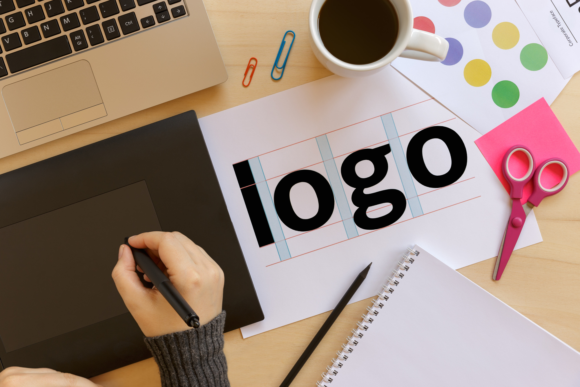 How to create logo guidelines for brand identity for Create blog logo