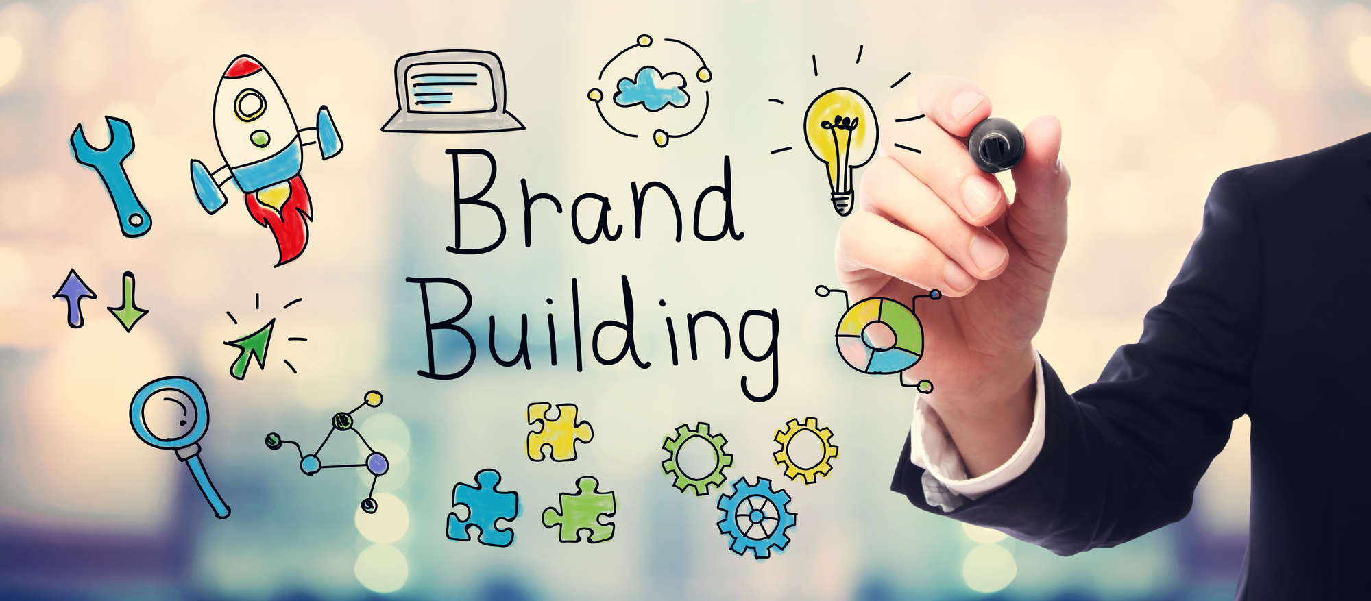 brand building text