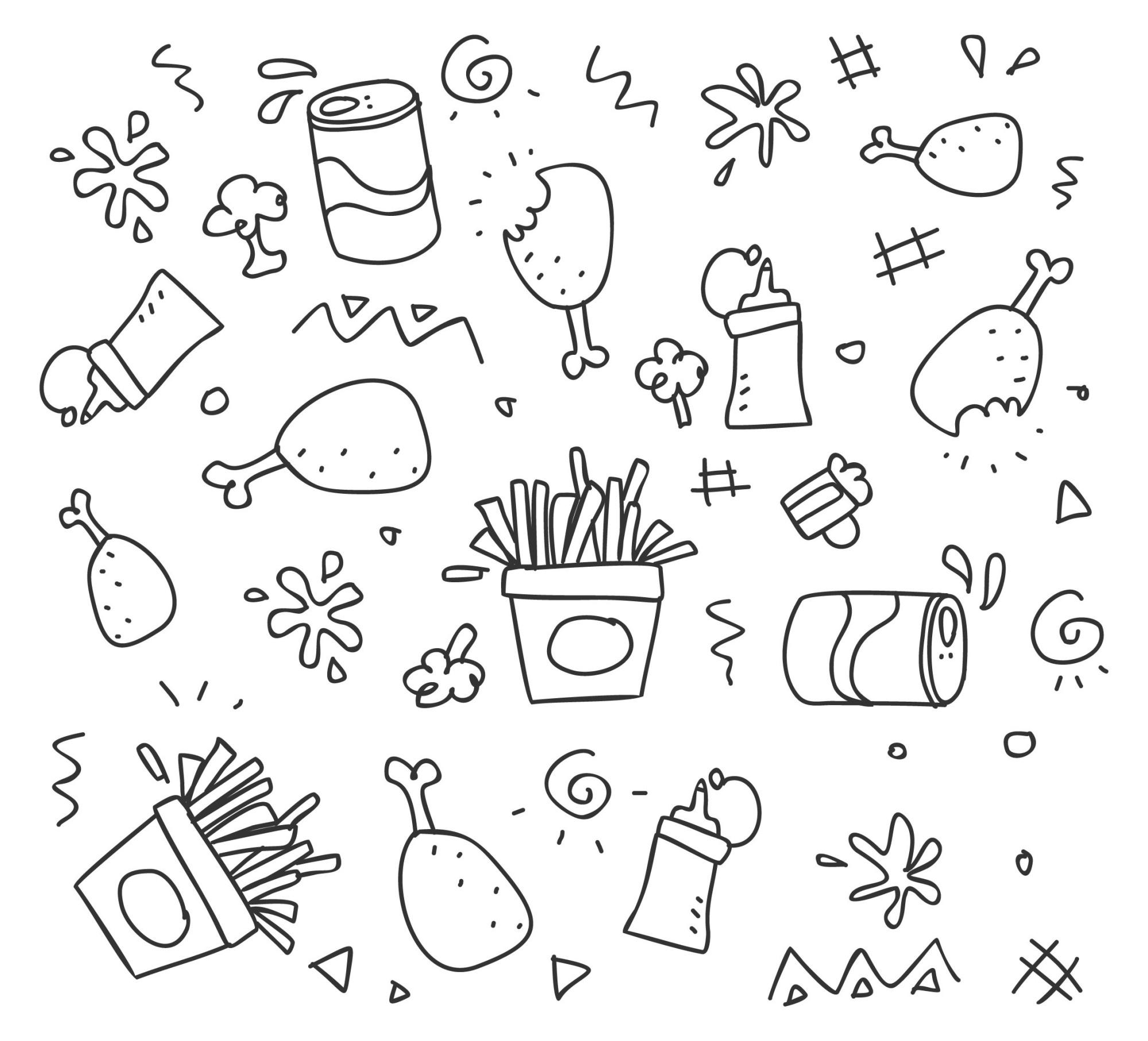 food logo icons