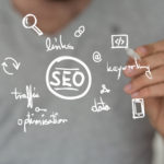 SEO and related terms and icons